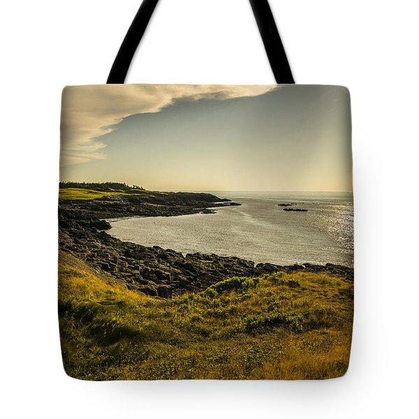Thinking Sunset Tote Bag