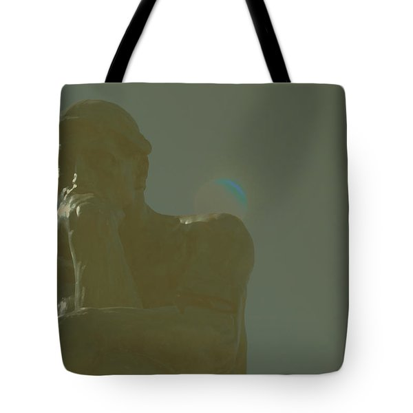 Tote Bag featuring the painting Thinking Together by Carolina Liechtenstein