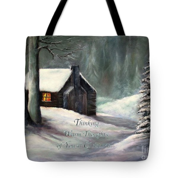 Thinking Warm Thoughts Of You Tote Bag
