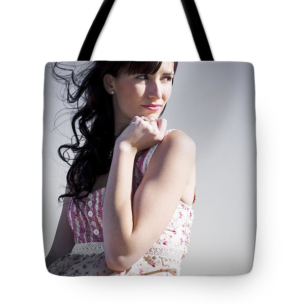 Thinking Woman Tote Bag