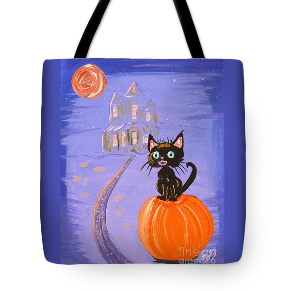 Things I Like Best At Halloween Tote Bag