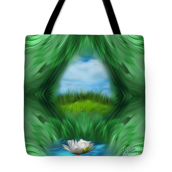 Third Eye Dimension Tote Bag