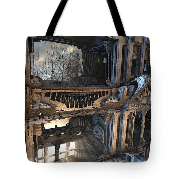 Third Floor Balcony Tote Bag
