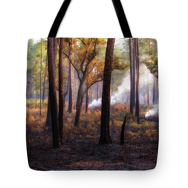 Tote Bag featuring the photograph Thirds by Jason Roberts