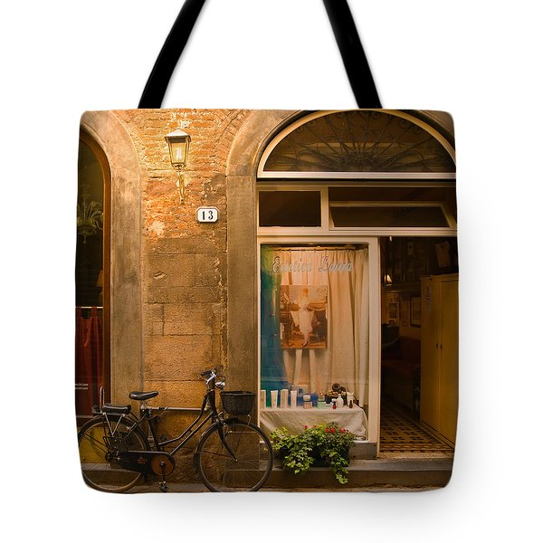 Thirteen Tote Bag by Mick Burkey
