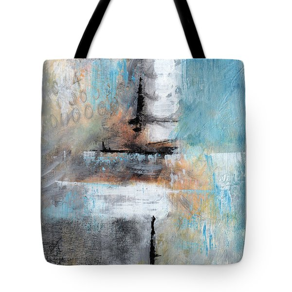 Tote Bag featuring the painting This April by Rick Baldwin