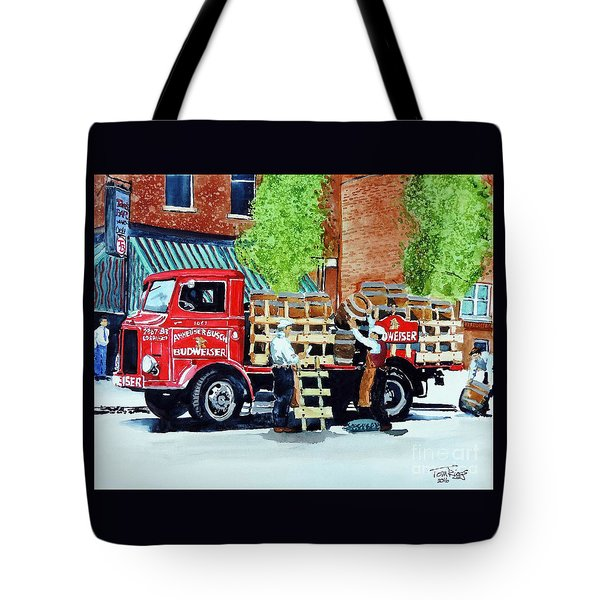 This Bud's For You Tote Bag by Tom Riggs