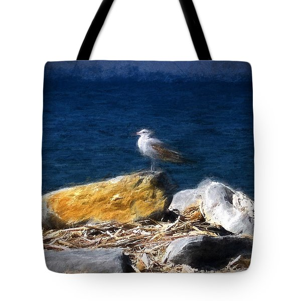 This Gull Has Flown Tote Bag by John Freidenberg