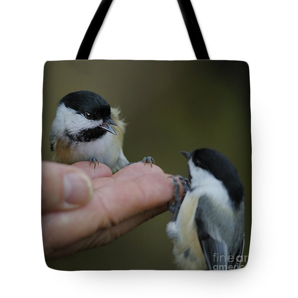 This Hand Is Mine Tote Bag by Nina Stavlund