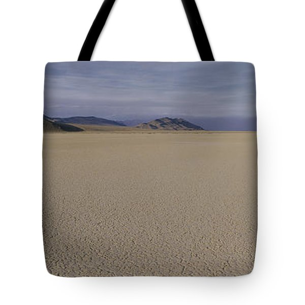 This Is A Dry Lake Pattern Tote Bag by Panoramic Images