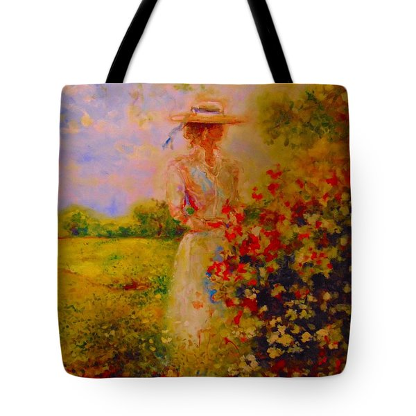 This Is A Good View Tote Bag by Emery Franklin