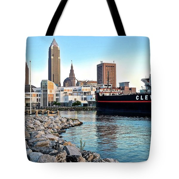 This Is Cleveland Tote Bag by Frozen in Time Fine Art Photography