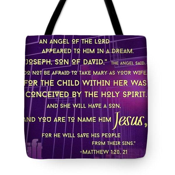 This Is How Jesus The Messiah Was Born Tote Bag