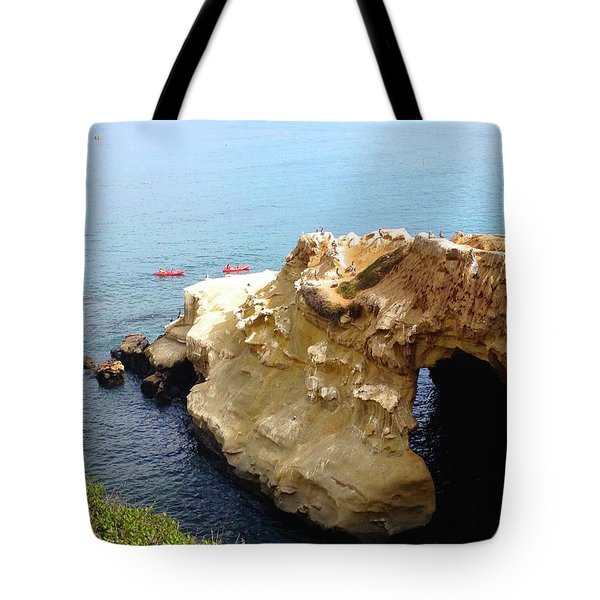 This Is La Jolla Tote Bag by Beth Saffer