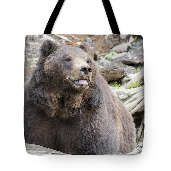 This Is Me Smiling Tote Bag