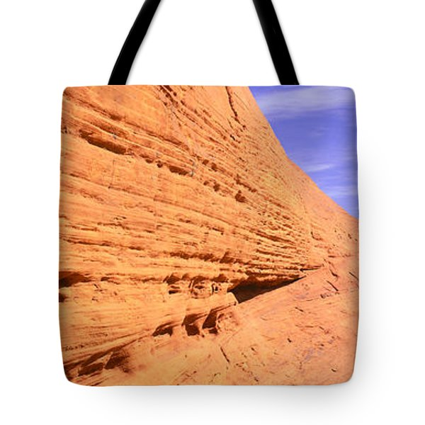 This Is Nevadas First State Park In Red Tote Bag