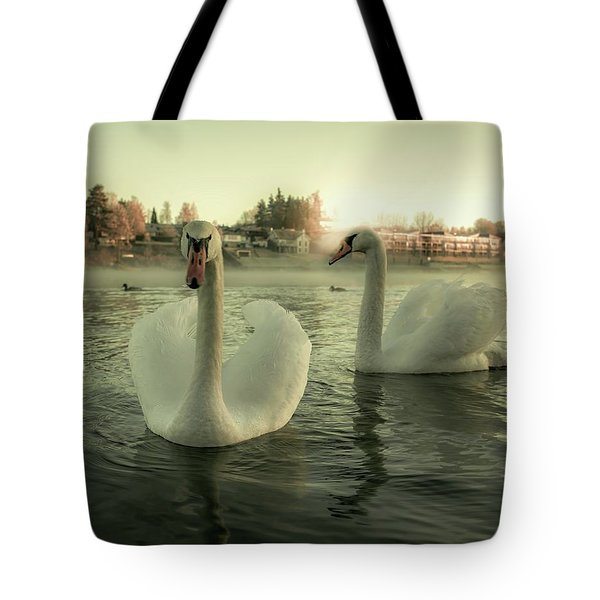 This Is Purity And Innocence Tote Bag by Rose-Marie Karlsen