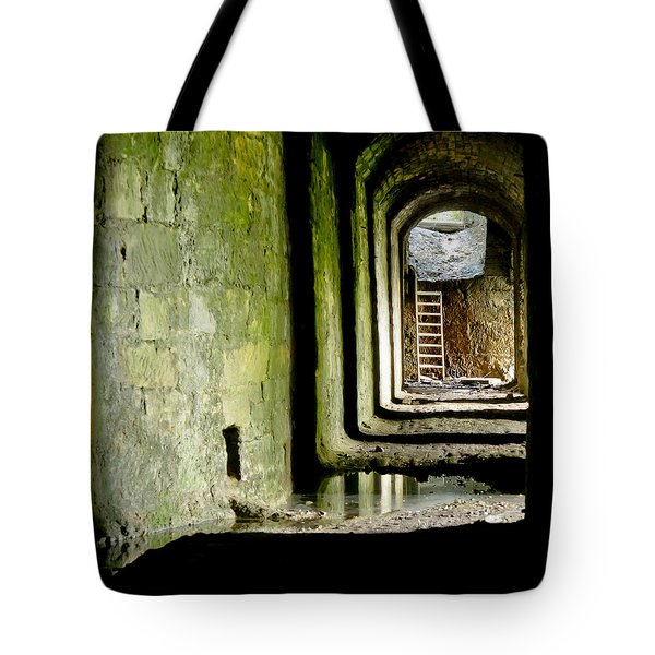 This Is The End. Abandoned. Tote Bag