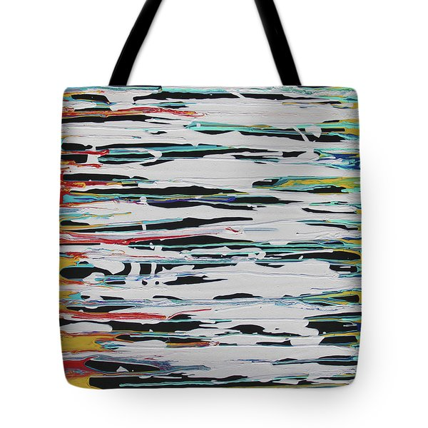 This Is Us Tote Bag by Cyrionna The Cyerial Artist