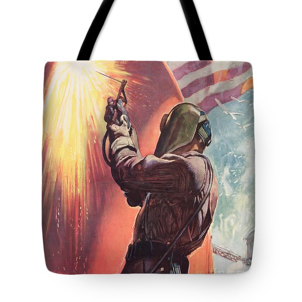 This Is Your Firing Line Dont Slow Up The Ship Tote Bag
