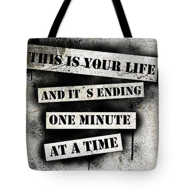 This Is Your Life - Fight Club Tote Bag