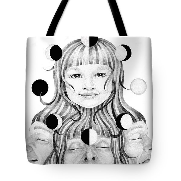 This Life In My Hands Excerp Tote Bag by Deadcharming Art