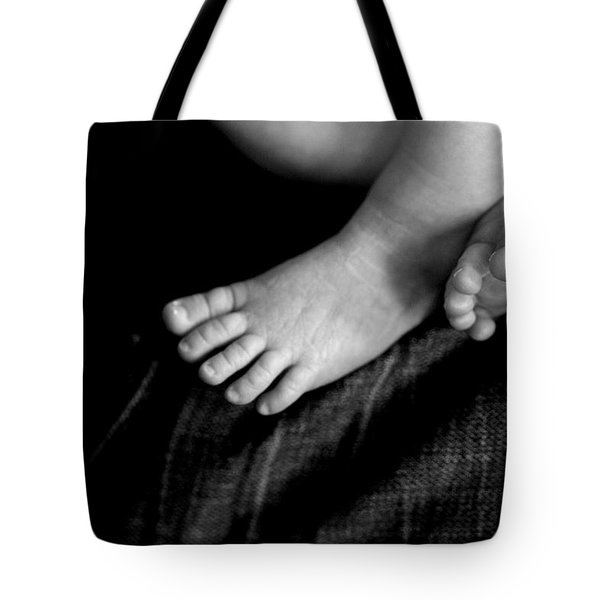 Tote Bag featuring the photograph This Little Piggy... by Angela Rath