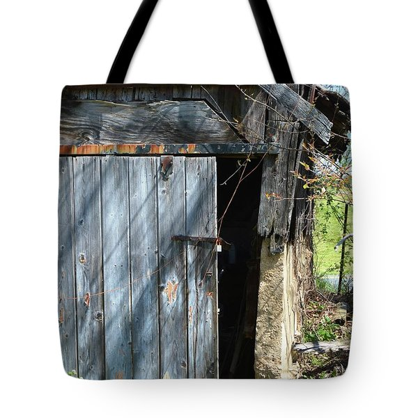 This Old Barn Door Tote Bag