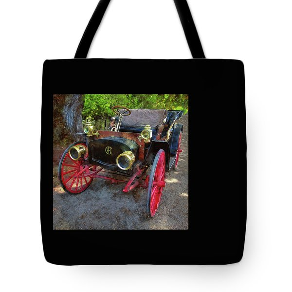 Tote Bag featuring the photograph This Old Car by Thom Zehrfeld