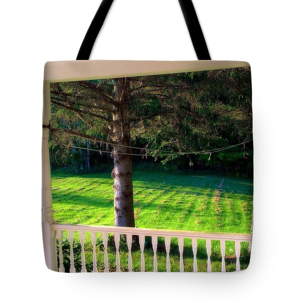 This Old Porch Tote Bag