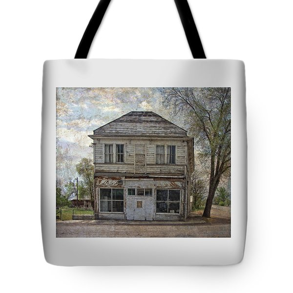 Tote Bag featuring the photograph This Old Store by Thom Zehrfeld