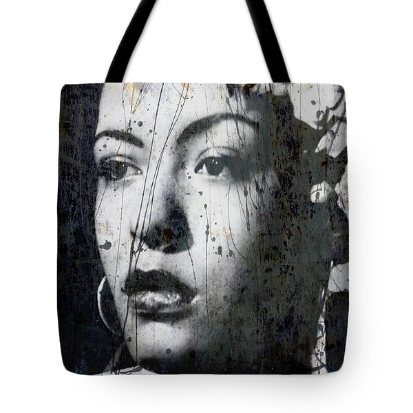 Tote Bag featuring the mixed media This Ole Devil Called Love  by Paul Lovering