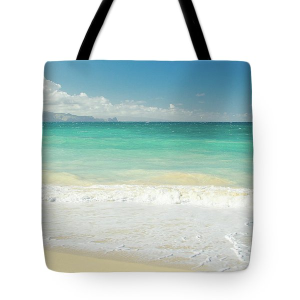 Tote Bag featuring the photograph This Paradise Life by Sharon Mau