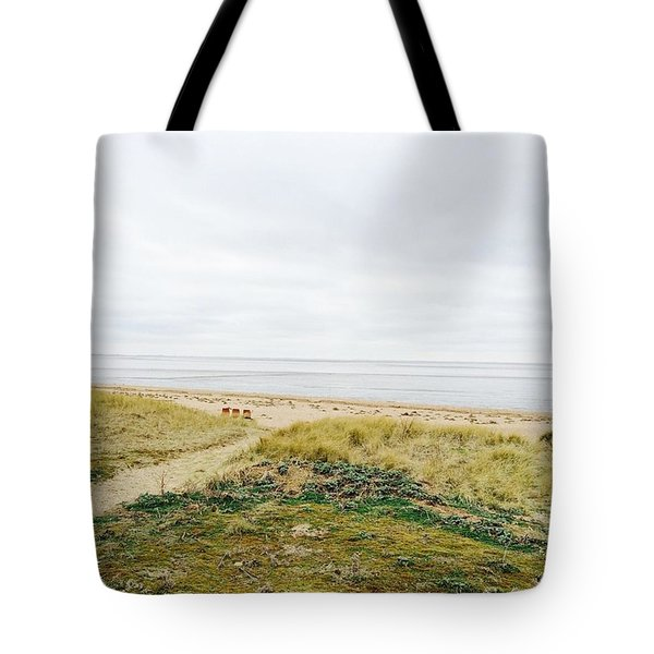 This Photo I Took On A North Norfolk Uk Tote Bag