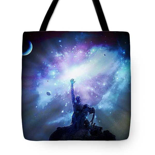 This Poor Man Cried, And The Lord Heard Him, And Saved Him Out Of All His Troubles. Tote Bag