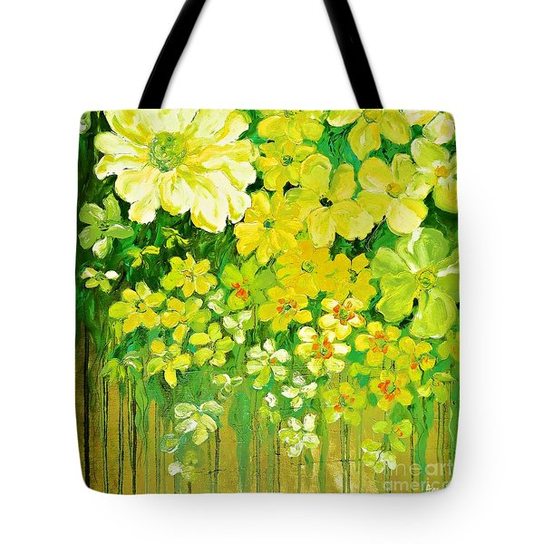 This Summer Fields Of Flowers Tote Bag