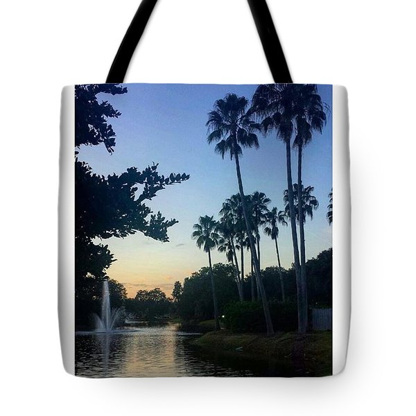Living In A Tropical Dream Tote Bag