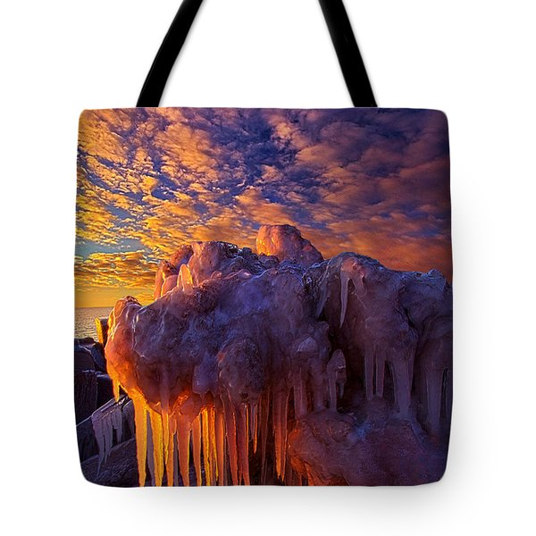 This Voice Keeps Whispering Tote Bag