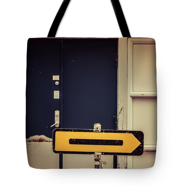 This Way Tote Bag