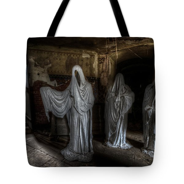 This Way Please Tote Bag