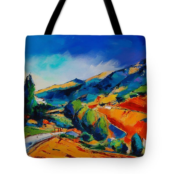 This Way To Heaven Tote Bag by Elise Palmigiani