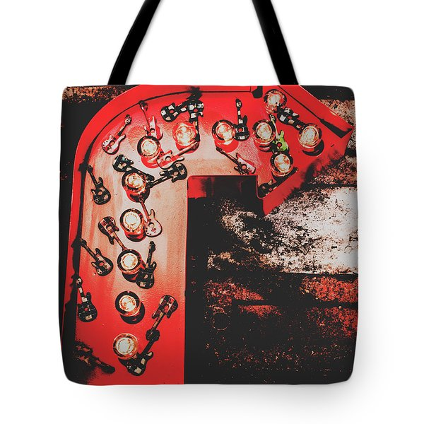 This Way To Rock City Tote Bag