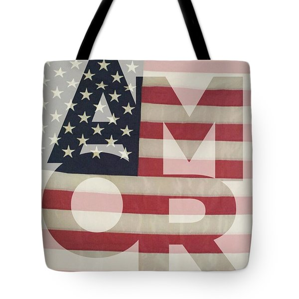 One Love Tote Bag