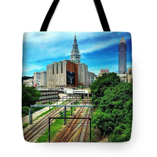 #thisiscle  Tote Bag