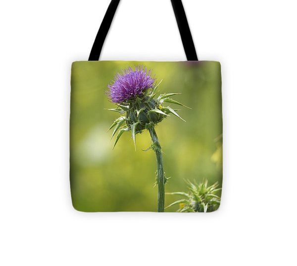 Thistle And Mustard Tote Bag by Doug Herr