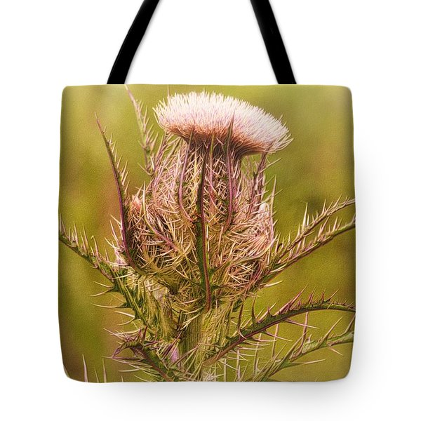 Thistle And Thorns Unfolding Tote Bag