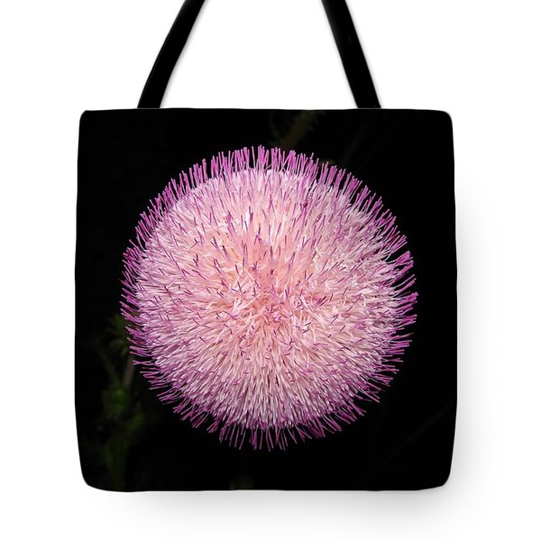Thistle Bloom At Night Tote Bag by J R Seymour