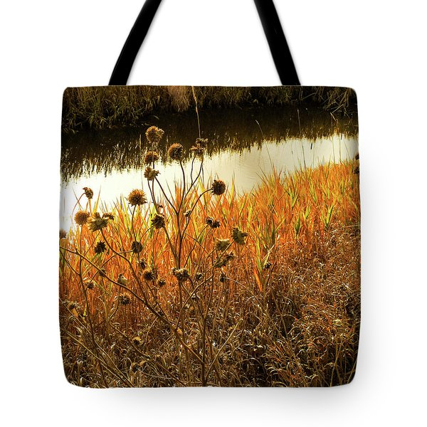 Thistle Down Tote Bag