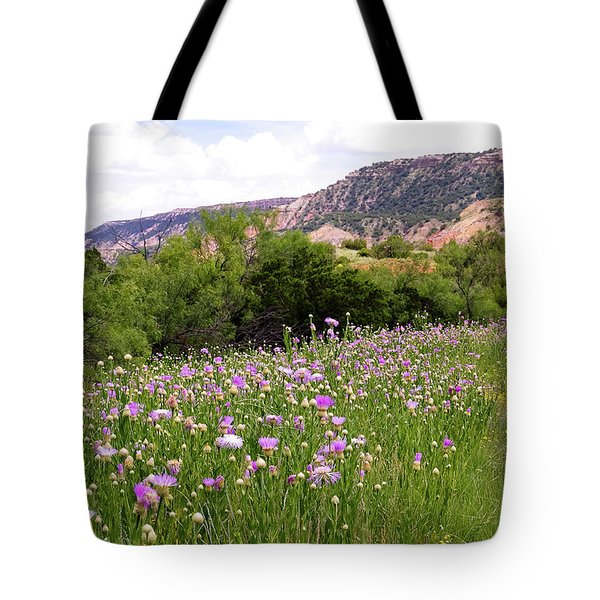 Thistles In The Canyon Tote Bag