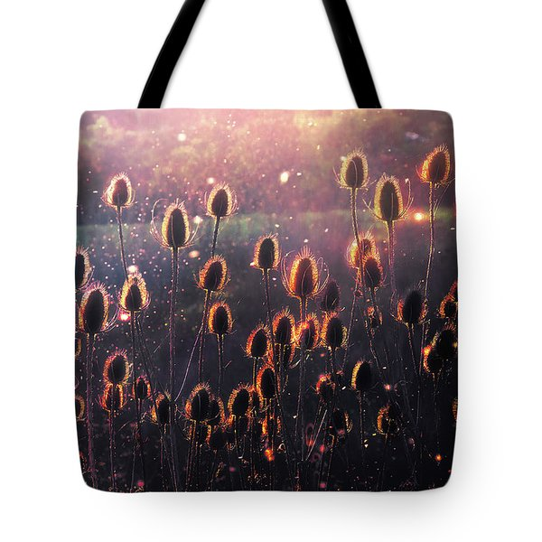 Thistles Tote Bag
